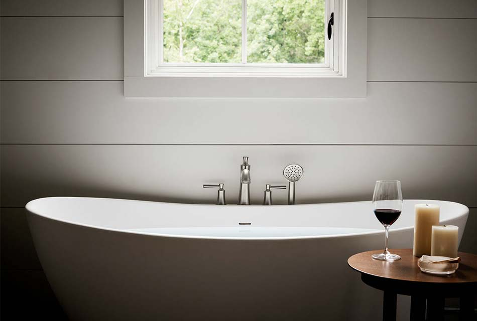 bathtub modern fixtures
