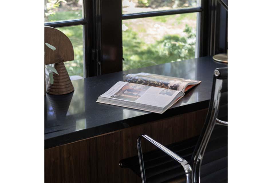 countertop Vadara Nior Blanc Desk